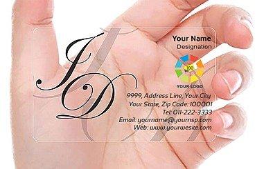 Transparent Business Card 000083