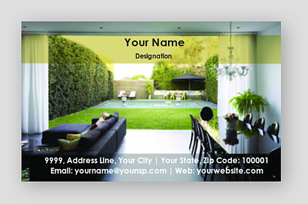 Premium Business Card 000861