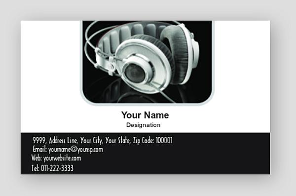 Premium Business Card 000865