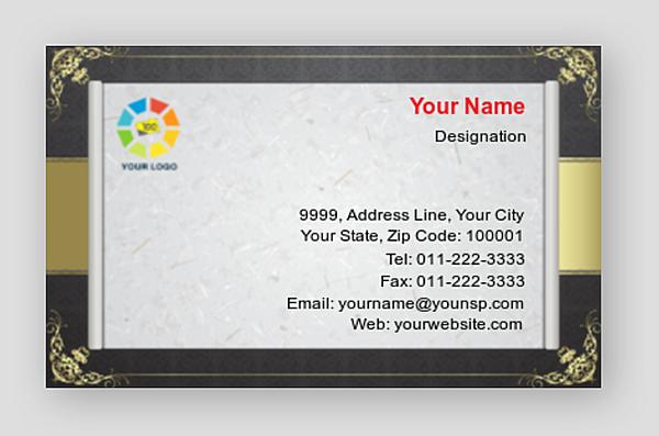Premium Business Card 000870