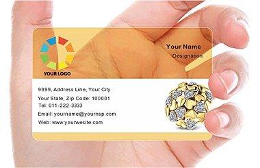 Transparent Business Card 000359