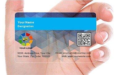 Transparent Business Card 000384