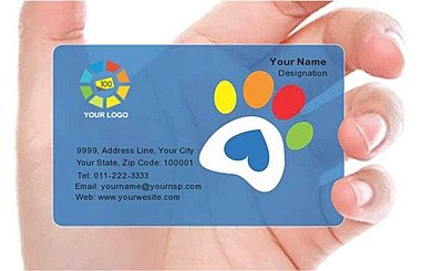 Transparent Business Card 000598