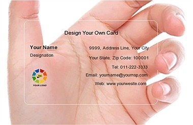 Transparent Business Card 000673