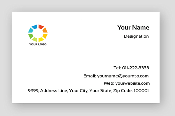 Premium Business Card 000673