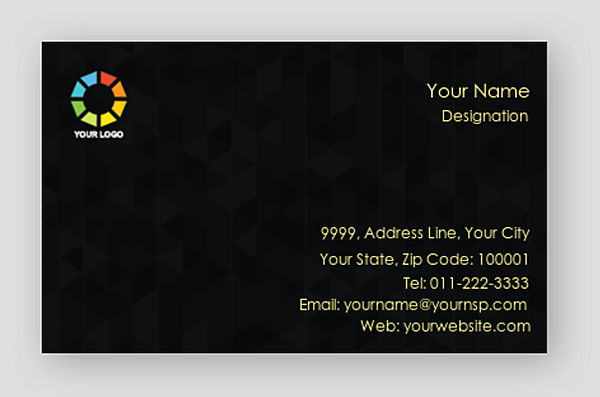 Create free premium business cards design online 100yellow more info customize now reheart Image collections