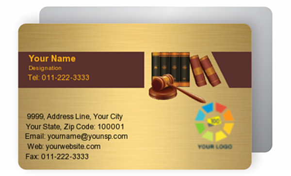 Gold Business Card 000011
