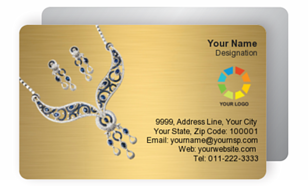 Gold Business Card 000170