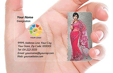 Transparent Business Card 000069