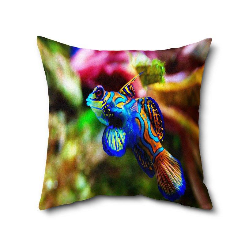Animal Print Cushion Cover, Digital Print Cushion Covers, Printed Cushion With Filler 12 x 12 Inches
