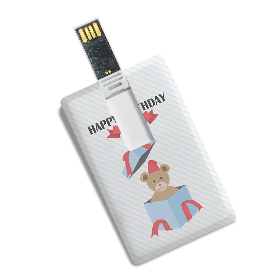 Credit Card Shape Printed Designer High Speed Fancy Pen Drive