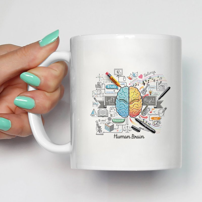Best Quality Printed Designer Multi-Purpose Ceramic Coffee Mug For Gift