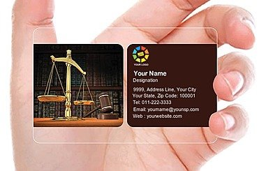 Transparent Business Card 000014