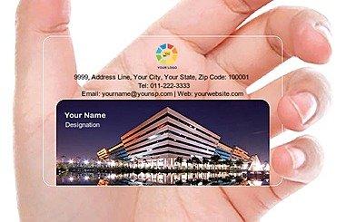 Transparent Business Card 000041