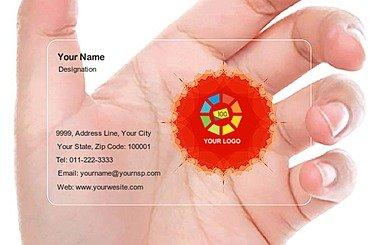 Transparent Business Card 000086
