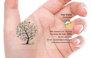 Transparent Business Card 000099