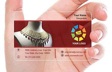Transparent Business Card 000315