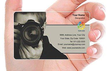 Transparent Business Card 000355