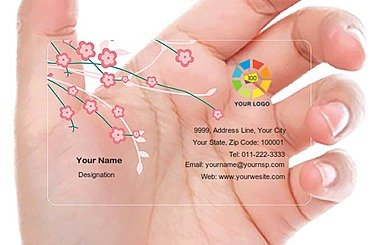 Transparent Business Card 000432