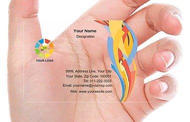 Transparent Business Card 000508