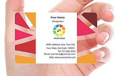 Transparent Business Card 000519