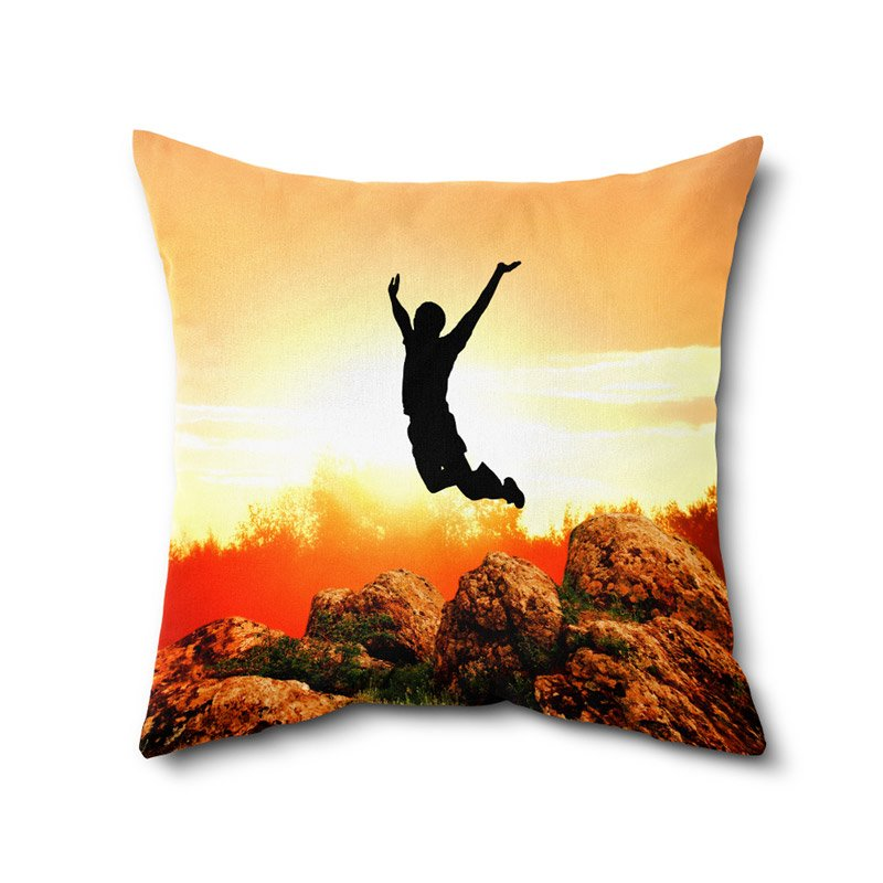 Abstract Print Cushion Cover, Digital Print Cushion Covers, Printed Cushion WIth Filler Decor 12 x 12 Inches