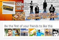 100Yellow Facebook